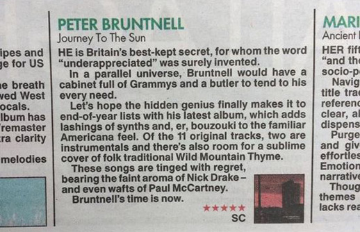 5 star review from the sun